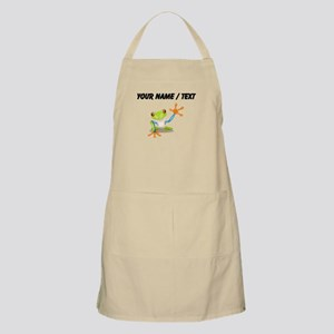 Custom Tree Frog Apron